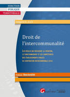 DROIT DE L'INTERCOMMUNALITE