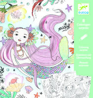 COLORIAGES SURPRISES SOUS L'OCEAN