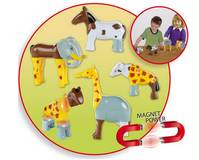 Magnet puzzle Animaux 3D Early steps