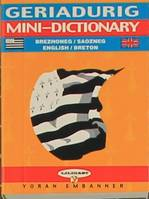 Breton-English and English-Breton mini-dictionary
