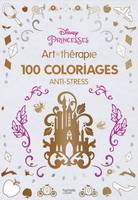 Princesses - Disney, 100 coloriages anti-stress
