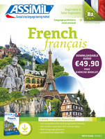 French / language proficiency level attained B2, beginners & false beginners : pack MP3