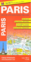 Paris (75) - plan de ville - 1/12 000