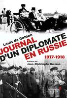 Journal d'un diplomate en Russie, 1917-1918