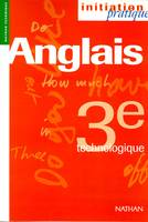 IP ANGLAIS 3E TECHNO ELEVE