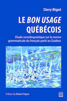 LE BON USAGE QUEBECOIS