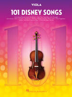 101 Disney Songs, for Viola