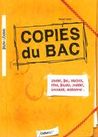 LES COPIES DU BAC D'ARDISSON A ZIDANE