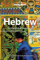Hebrew Phrasebook  Dictionary - 4ed - Anglais