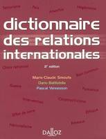Dictionnaire des relations internationales, approches, concepts, doctrines