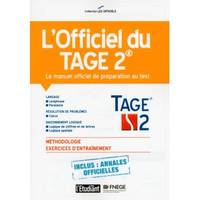 L'officiel du Tage 2 - Le manuel officiel de préparation au test 2e édition