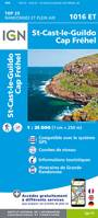 Top 25 : une carte, un site, 1016ET, St-Cast-le-Guildo, Cap Frehel