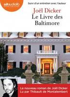 Le livre des Baltimore : 2 cd Mp3