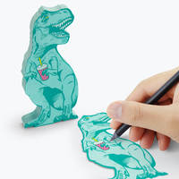 T rex Sticky notes 150 feuillets bleu pastel