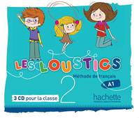 Les Loustics 2 : CD audio classe (x3), Les Loustics 2 : CD audio classe (x3)