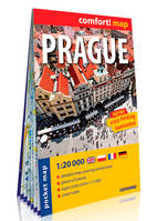 PRAGUE 1/20.000 (ANG) (CARTE POCHE FORMAT LAMINEE)