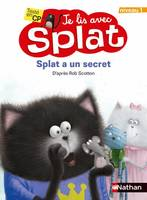 Je lis avec Splat, 9, SPLAT A UN SECRET