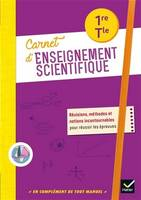 Carnet d'enseignement scientifique 1re, Tle