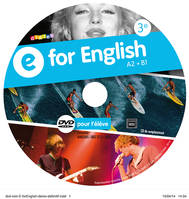 E for English 3e - DVD de remplacement