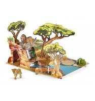 Coffret Savane + 3 figurines incluses