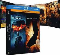 Coffret Christopher Nolan : The dark knight + Batman Begins  (3 Blu-ray)