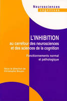 Inhibition au carrefour des neurosciences et des sciences de la cognition, fonctionnements normal et pathologique