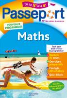 Passeport - Maths de la 5e à la 4e
