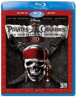 pirates caraibes fontaine jouvence 3D + 2D