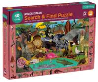 Search & Find Puzzle African Safari 64 pièces