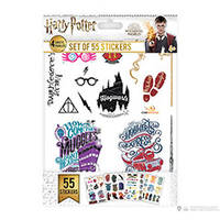 ensemble de 55 stickers - harry potter