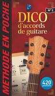 Methode en Poche Dictionnaire d'Accords de Guitare
