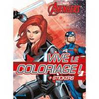 Marvel Avengers - Vive le coloriage ! + Stickers (Black Widow)