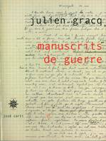 Manuscrits de guerre
