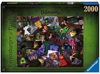 Puzzle 2000p - Disney Villainous - The Worst Comes Prepared (Méchants)