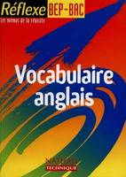 Vocabulaire d'anglais