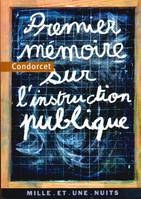 Premier mémoire sur l'instruction publique