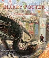 4, Harry Potter et la coupe de feu - Harry Potter T04 (illustré)