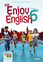 New Enjoy English 6e - Manuel + DVD-rom, Elève+DVD-Rom