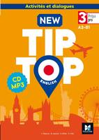 NEW TIP-TOP English 3e Prépa-Pro - Éd. 2017 - CD audio