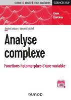 Analyse complexe, Fonctions holomorphes d'une variable