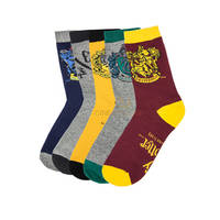 Lot de 5 paires de chaussettes Harry Potter