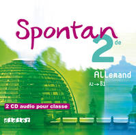 Spontan 2de - Coffret cd audio classe