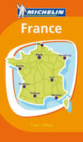 CR FRANCE  : Mini carte de France 1/10 000 000