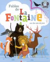 FABLES DE LA FONTAINE + CD