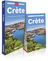 Crète / 3 en 1 : guide + atlas + carte