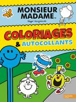 Monsieur Madame / coloriages & autocollants