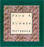 Erich Et Ruth Bains Hartmann - From A Summer Notebook /Anglais