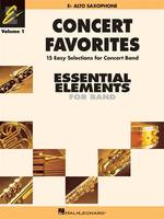 Concert Favorites Vol. 1 - Eb Alto Sax