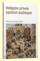 Religion privée, opinion publique