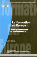La formation en Europe, entre performance et concurrence ?